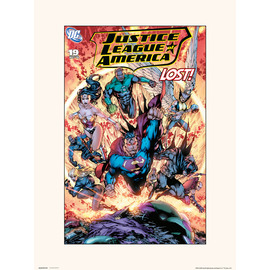 PRINT 30X40 CM DC JUSTICE LEAGUE OF AMERICA VOL 2 NO.19