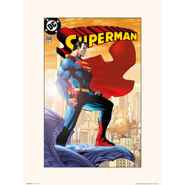 PRINT 30X40 CM DC SUPERMAN VOL 2 NO.204
