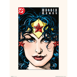 PRINT 30X40 CM DC WONDER WOMAN VOL 2 NO. 128