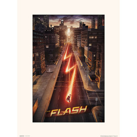 PRINT 30X40 CM DC THE FLASH
