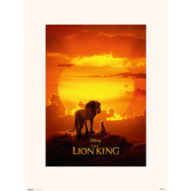 PRINT 30X40 CM DISNEY EL REY LEON ONE SHEET