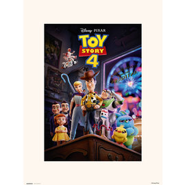 PRINT 30X40 CM DISNEY TOY STORY 4 ONE SHEET