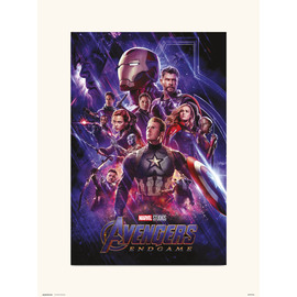 PRINT 30X40 CM MARVEL AVENGERS ENDGAME ONE SHEET