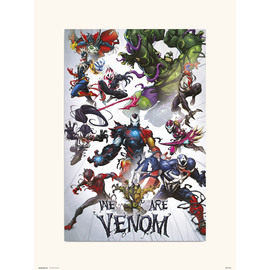 PRINT 30X40 CM MARVEL WE ARE VENOM