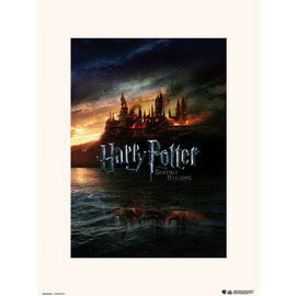 PRINT 30X40 CM HARRY POTTER AND THE DEATHLY HALLOWS