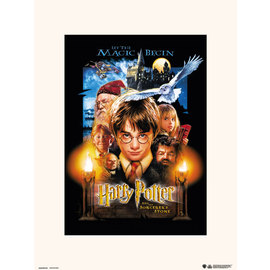 PRINT 30X40 CM HARRY POTTER AND THE SORCERERS STONE