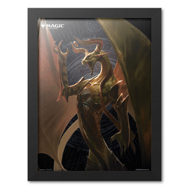 PRINT ENMARCADO 30X40 CM MAGIC THE GATHERING NICOL