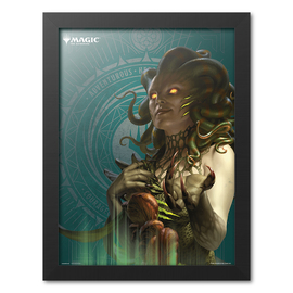 PRINT ENMARCADO 30X40 CM MAGIC THE GATHERING VRASKA