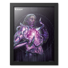 PRINT ENMARCADO 30X40CM MAGIC THE GATHERING TEZZERET