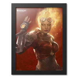 PRINT ENMARCADO 30X40 CM MAGIC THE GATHERING CHANDRA