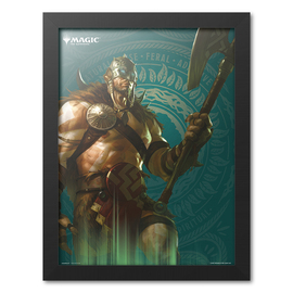 PRINT ENMARCADO 30X40 CM MAGIC THE GATHERING GARRUK