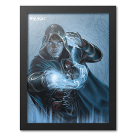 PRINT ENMARCADO 30X40 CM MAGIC THE GATHERING JACE