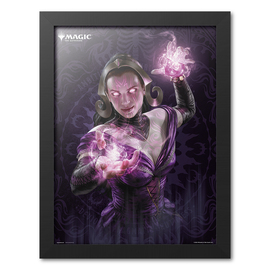 PRINT ENMARCADO 30X40 CM MAGIC THE GATHERING LILIANA