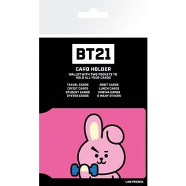 TARJETERO BT21 COOKY