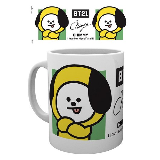TAZA BT21 CHIMMY