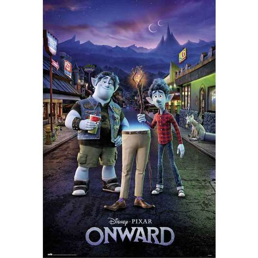 POSTER DISNEY ONWARDS TWO BROTHERS