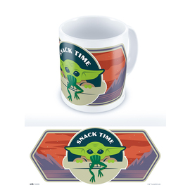 TAZA STAR WARS THE MANDALORIAN SNACK TIME