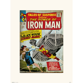 PRINT 30X40 CM MARVEL TALES OF SUSPENSE 53