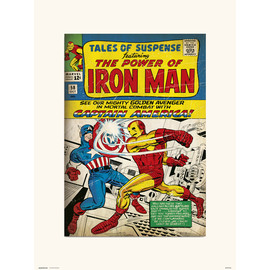 PRINT 30X40 CM MARVEL TALES OF SUSPENSE 58