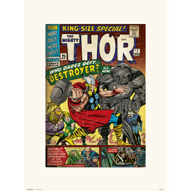 PRINT 30X40 CM MARVEL THOR KING-SIZE SPECIAL 2