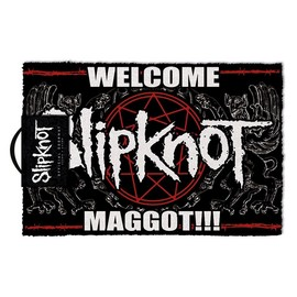 FELPUDO SLIPKNOT WELCOME MAGGOT