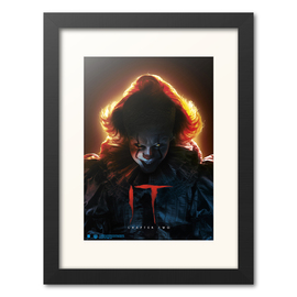 PRINT ENMARCADO 30X40 CM IT CHAPTER TWO