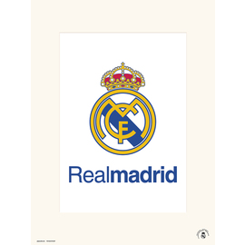 PRINT 30X40CM REAL MADRID - ESCUDO REAL