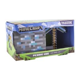 TAZA 3D MINECRAFT PICKAXE