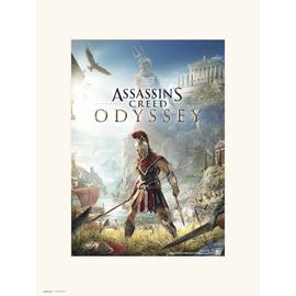 PRINT 30X40 CM ASSASSINS CREED ODYSSEY ONE SHEET