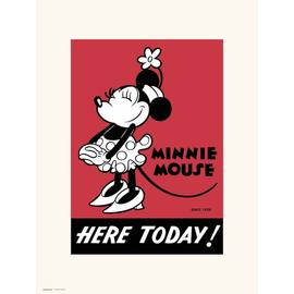 PRINT 30X40 CM DISNEY MINNIE 90