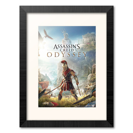 PRINT ENMARCADO 30X40 CM ASSASSINS CREED ODYSSEY ONE SHEET