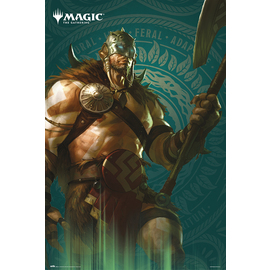 POSTER MAGIC THE GATHERING GARRUK
