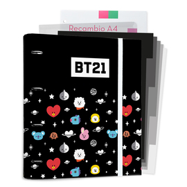 CARPEBLOCK 4 ANILLAS BT21