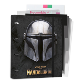 CARPEBLOCK 4 ANILLAS THE MANDALORIAN