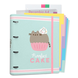 CARPEBLOCK 4 ANILLAS PUSHEEN FOODIE COLLECTION