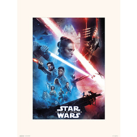 PRINT 30X40CM STAR WARS EPISODIO IX ONE SHEET