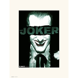 PRINT 30X40CM THE JOKER SMILE