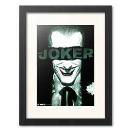 PRINT ENMARCADO 30X40 THE JOKER SMILE