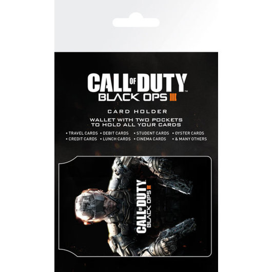 TARJETERO CALL OF DUTY BLACK OPS 3 COVER