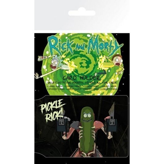 TARJETERO RICK & MORTY PICKLE RICK