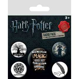 PACK CHAPAS HARRY POTTER SYMBOLS