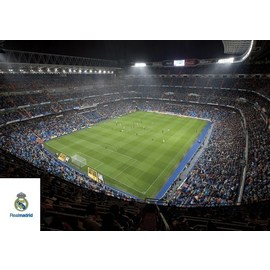 POSTAL REAL MADRID A4 ESTADIO INTERIOR