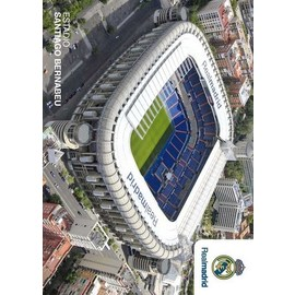 POSTAL REAL MADRID ESTADIO EXTERIOR
