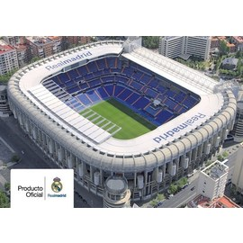 POSTAL REAL MADRID A4 ESTADIO