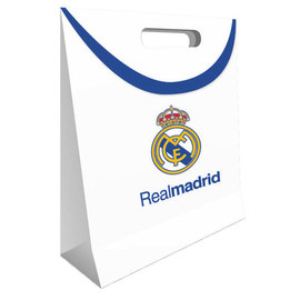 BOLSA REGALO GRANDE REAL MADRID BLANCA