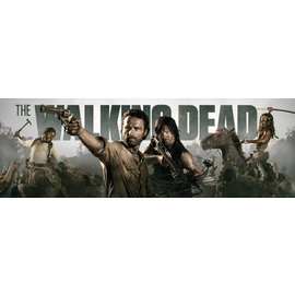 POSTER PUERTA THE WALKING DEAD BANNER