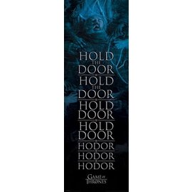 POSTER PUERTA GAME OF THRONES HOLD THE DOOR