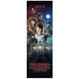 POSTER PUERTA STRANGER THINGS ONE SHEET
