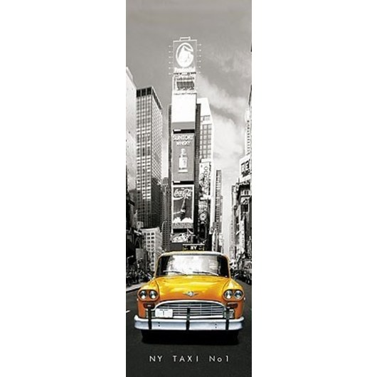 POSTER PUERTA NEW YORK TAXI N§1