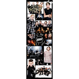 POSTER PUERTA 5 SECONDS OF SUMMER GRID 2